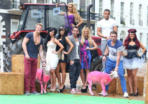 The cast of new MTV show The Valleys which airs Tuesday 25th September 2012 10pm exclusive to MTV Photo: Mike Marsland