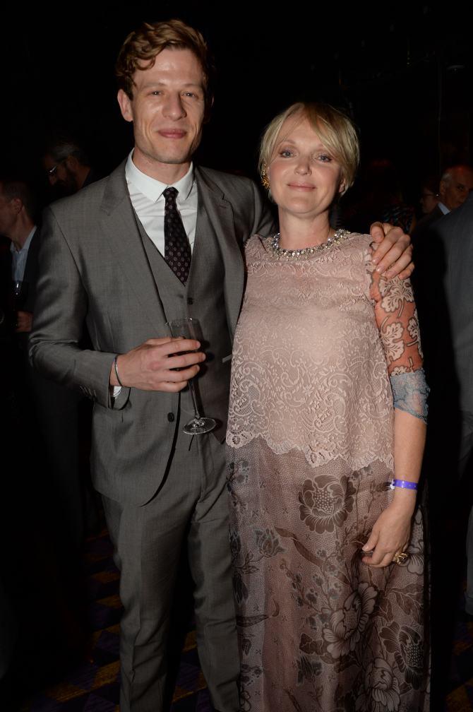 James Norton and Miranda Richardson