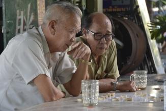 Checkers strategy, Bangkok, Andy Brown