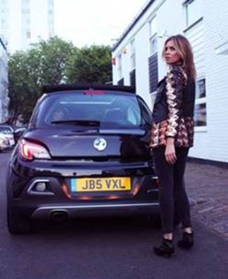 The key credit is: Abbey Clancy stars in 'The Vauxhalls' a short film celebrating the launch of the 'Vauxhall Adam Rocks Air'. To view the film go to: www.vauxhall.co.uk/thevauxhalls
