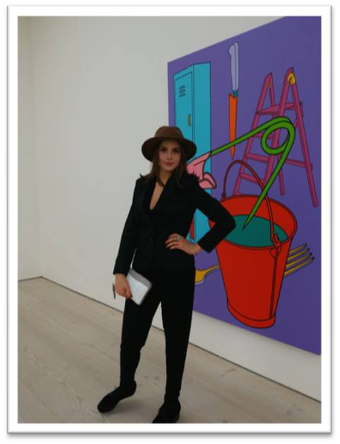 Genevieve Gaunt Saatchi Gallery Post Pop Preview Photo by Alan Greenhalgh
