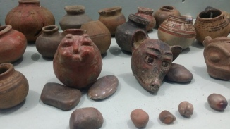 El Ceibo Pre Colombian Ceramics museum on Ometepe Island