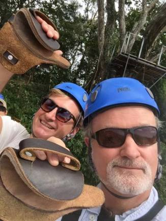 Alan Greenhalgh and Matthew Devlen in Nicaragua