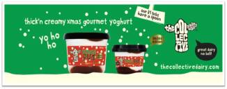 The Collective Gourmet Christmas Pud Yoghurt