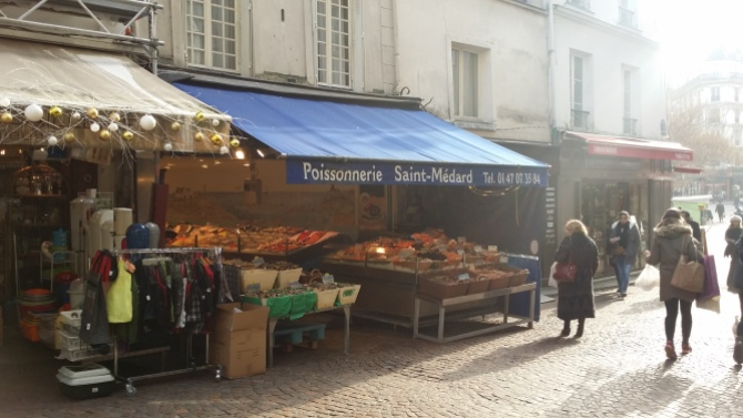 Rue Mouffetard (French pronunciation: [ry muf.taʁ]) is a street in the 5th arrondissement of Paris, France.