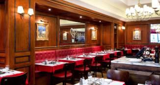 Chez Boubier Knightsbridge interior restauarant