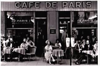 The original Cafe De Paris in Geneva