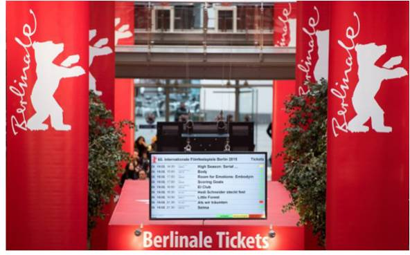 Berlinale Ticket Booth
