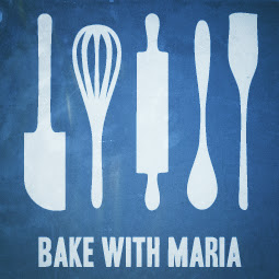 Bake With Maria Logo London