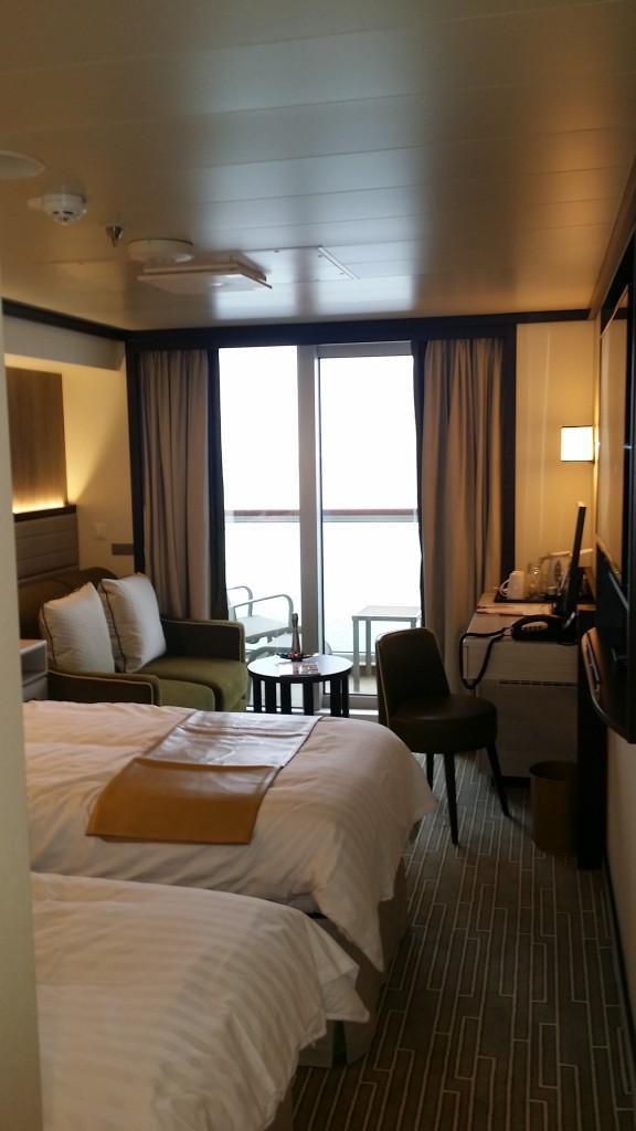 F Deck Cabin - twin room aboard Britannia