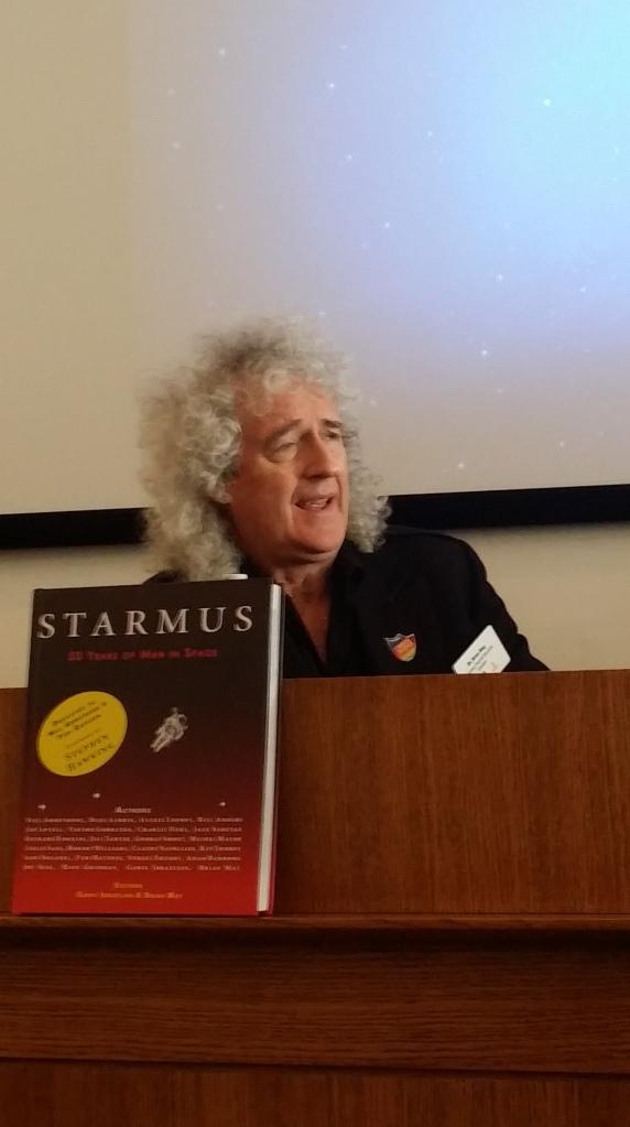 Brian May Queen Starmus Tenerife