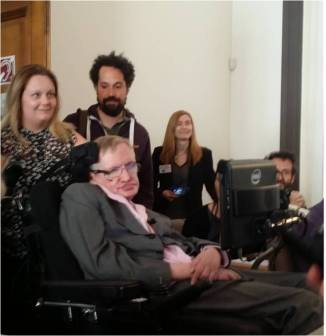 Stephen Hawking London Tenerife Starmus